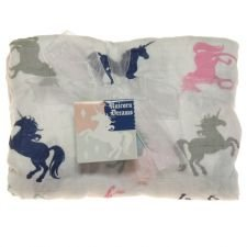 Imagine Baby Products Rayon from Bamboo Blanket, Unicorn Dreams