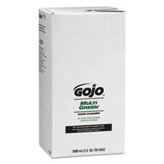 Total Lab Ct (GOJO 7565 MULTI GREEN Hand Cleaner Refill, 5000mL, Citrus Scent, Green, 2/Carton)