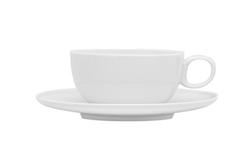 Oven Cups Safe Saucers (Red Vanilla Every Time Tea Cup and Saucer Set, Set Of 6, White)