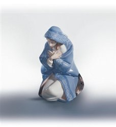 Lladro Mary Porcelain Figurine by Lladro