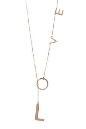 Adornia Love Lariat Necklace 925 Sterling Silver Parent