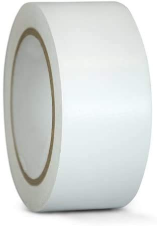 """White Color Packing Tape – 2"""" x 110 Yds. Per Roll 2.0Mil, (Pack of 6 Rolls) Carton Sealing Tape – Boxing Tape - Acrylic Tape"""