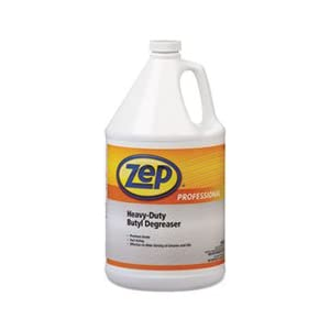 Zep Professional R08824 Heavy Duty Butyl Degreaser, Mild Butyl Fragrance, Clear/Dark Blue (Case of 4 Gallons)