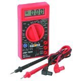 7 Function Digital Multimeter for Precise Electronic Measurements & Tests Digital Amp OHM Volt Meter ACDC Voltmeter by Cen-Tech by Cen-Tech