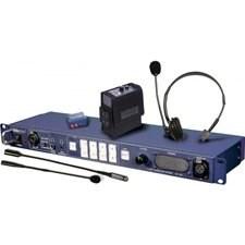 Datavideo ITC-100 Intercom Base Station & 4-User Headset/Beltpack Kit by Datavideo