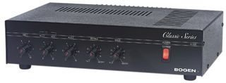 BOGEN COMMUNICATIONS C60 Bogen Communications Inc C Series PA Amps, Power Output: 60 W, Frequency Response +/- 2 dB: 100 Hz-10 KHz, Distortion at RPO: