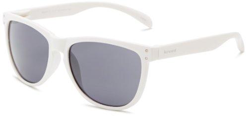 Kreed Men's Ringo Wayfarer Sunglasses,White,57 - Sunglasses Kreed