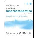 Principles of Macroeconomics: Study Guide