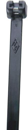 Morris Products 20746 Ultraviolet Black Nylon Cable Tie Stai