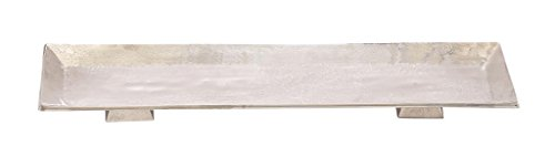 Deco 79 Aluminum Rectangle Tray, 24 by 2-Inch