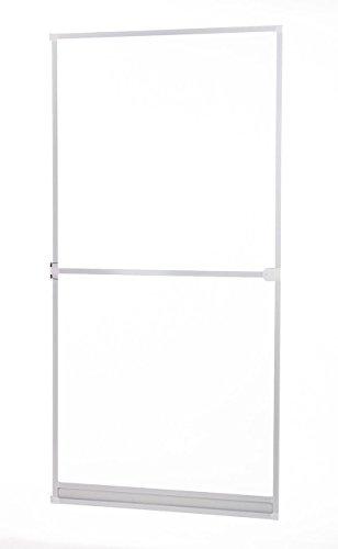 Insektenschutz Fliegengitter Tür Alurahmen Basic weiß braun anthrazit 100 x 210 cm