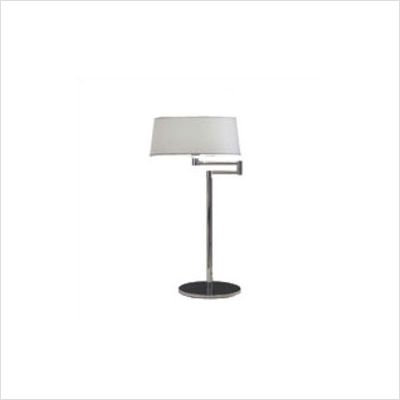 Zaneen Lighting D8-4063 Classic Table Lamp, Chrome