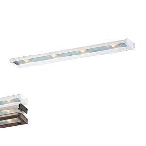 CSL Lighting NCAX-120-32WT 4-Light Hardwire/Portable SpeedLink Linkable Undercabinet Light Fixture 35 Watt 120 Volt 2900K White CounterAttack Xenon ()