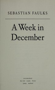 book cover of A Week in December