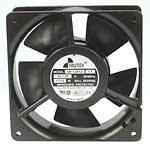 Fulltech Electric UF12A11BTL1-R Ball Bearings Terminals Fan, UL/CUL/TUV/CE, 115VAC, 64 CFM, 120 mm L x 120 mm W x 38 mm H