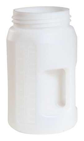 Fluid Storage Container, Drum, HDPE, 3 L