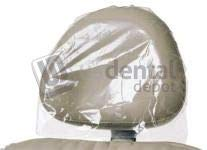 DEFEND- Headrest Covers Clear 14 in x 9.5in 250 Box #BF-9500 [ 1124874 ] DEFEND- Cobertor de Cabezal 14 in x 9.5in 250 Box #BF-9500 113637 Denmed Wh