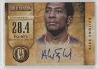 #6: Alex English #/299 (Basketball Card) 2013-14 Panini Gold Standard - Gold Season Autographs #13