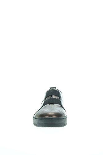 à Wonders Femme élastiques Wonders 5505 Sneaker à Sneaker Femme Noir nbsp;Sneaker HZYqW