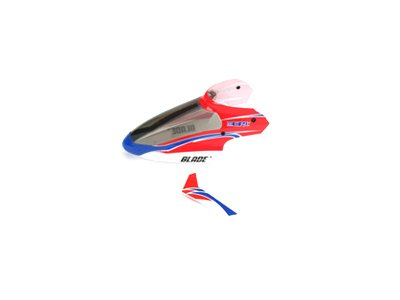Complete Red Canopy with Vertical Fin: mCP X
