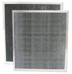American Metal Carbon Range Hood Filter 10 7/16'' x 11 7/16'' x 3/8''