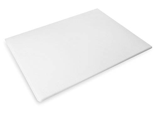 New Star Foodservice 28874 Cutting Board, 18x24x1/2-Inch, White - Large Glass Cutting Board