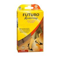 Futuro Restoring Pantyhose For Women Brief Cut Panty Nude Firm, Extra Large each by 3M (Pack of 2)