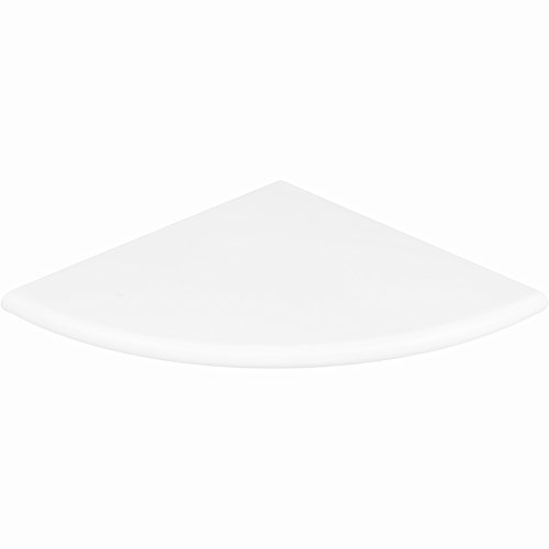 Premium Quality Thassos White Marble Corner Shelf Polished 9'' (2) by Vogue Tile
