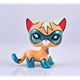 LLPs Rare Super Hero Short Hair Kitty Blue Eyes Cat Comic Con