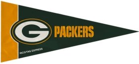 Rico Industries NFL Green Bay Packers Pennant Mini 8 Piece, One Size, Team Colors ()