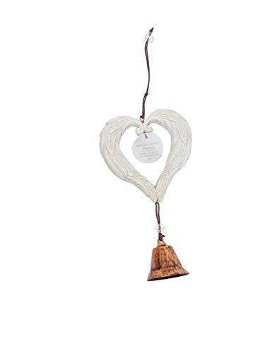 The Neko Cafe Gift Sets Heart and Hanging Bell Dog Cat Pet Memorial Chime