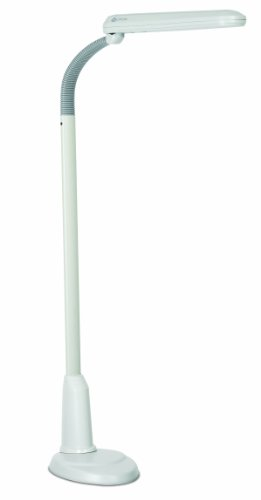 Ott Floor Lamp: Amazon.com: OttLite L24554 Task Plus High-Definition 24-Watt Floor Lamp,  Dove Grey: Home Improvement,Lighting
