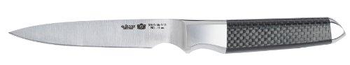 DE BUYER Fibre Karbon 1 Paring Knife, 4.25-Inch by De Buyer