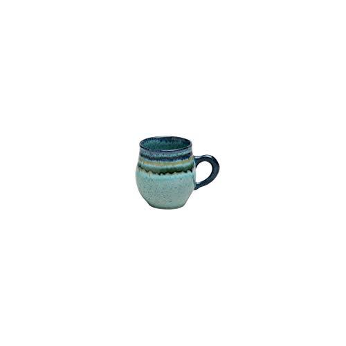 Casafina Sausalito Collection Stoneware Ceramic Mug 14 oz, Green