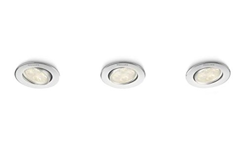 Remarquable Philips Spot encastrable LED Aluminium Albireo 2 700 K Luminaire d YC-15