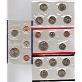 1999 P & D Mint Set in Original U.S. Government Packaging 18-Coins (Delaware State Quarter)
