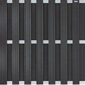 Sichtschutzzaun Sichtschutz Wpc Komposit Aluminium Anthrazit