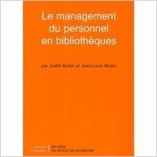 Livres Le Management du personnel en bibliothèques pdf