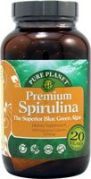 PURE PLANET 100% Pure Spirulina, 200 ()