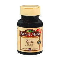 Nature Made Zinc Tabs - 30 mg