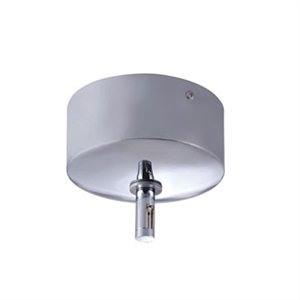 Jesco Lighting MST-12012/300E-CH Accessory - 25 Amp Monorail Surface Mounted Transformer, Chrome Finish