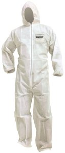 Seachoice 93261 Microporous Coveralls - White - Disposable - Size XXXL - with Hood