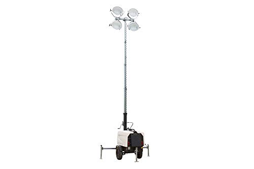 7 500 Watt Generator - Water Cooled Diesel Engine - 25' Telescoping Tower - 120/20V - 4 MH Fixtures ()