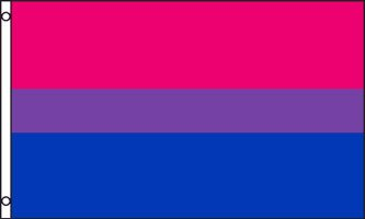 Bisexual flags