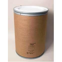 55 Gallon w/Plastic Cover, Greif Lok-Rim Fiber
