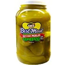 Best Maid Sour Pickles 1 Gal 12-16 count