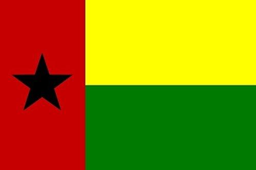 U24 Drapeau du drapeau Guinée-Bissau Bateau haute qualité pour 150 x 250 cm