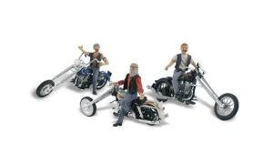 Esperando por ti Woodland Scenics AS5344 N Bad Boy Bikers Bikers Bikers by Woodland Scenics  Nuevos productos de artículos novedosos.