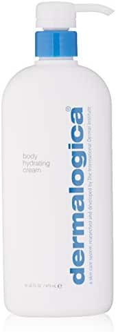 Dermalogica Body Hydrating Cream, 16 Fl Oz - Body Lotion with Green Tea and Lemon Oil