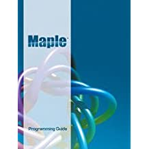 amazon com maplesoft books rh amazon com Maple Software S Maple Programming Examples